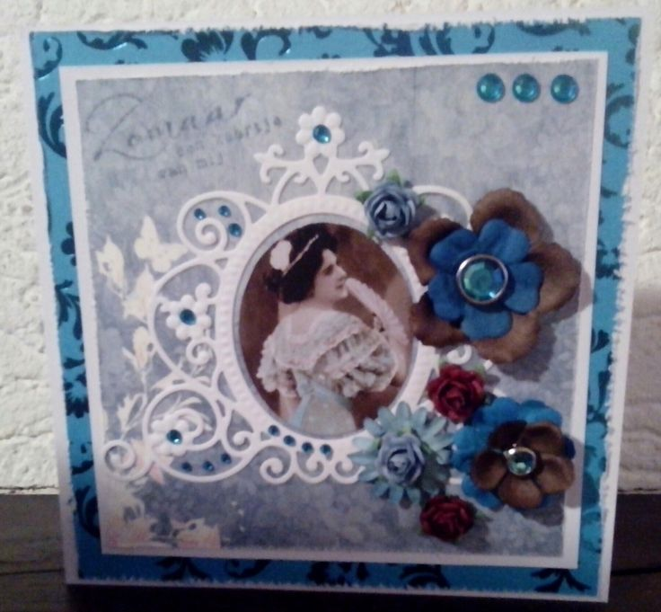 Roses, firtst design paper and die from md