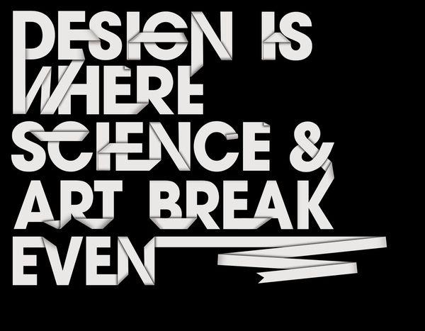 Design ans Science