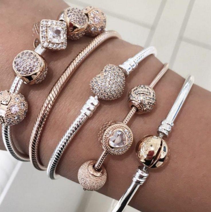 Official Pandora Jewelry: 45 Mejores Imágenes De PANDORA Rose En Pinterest