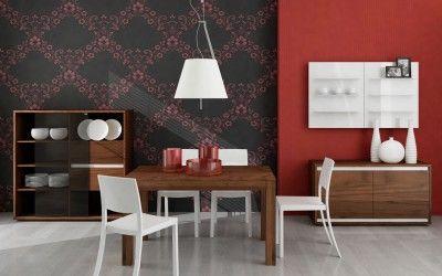 Nowoczesne, drewniane meble do salonu autorstwa Mobiliani