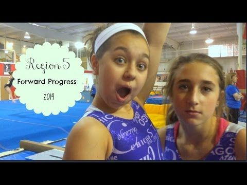 Region 5 Gymnastics Forward Progress 2014 Got some videos from forward progress this year! This is a region 5 camp held at IGI. It was a ton of fun watching all the girls from different gyms in the area. There's a ton of talent in region 5 this year :)  Also I apologize for the terrible video quality. I had to resort to filming with my iPod that's from 2008!