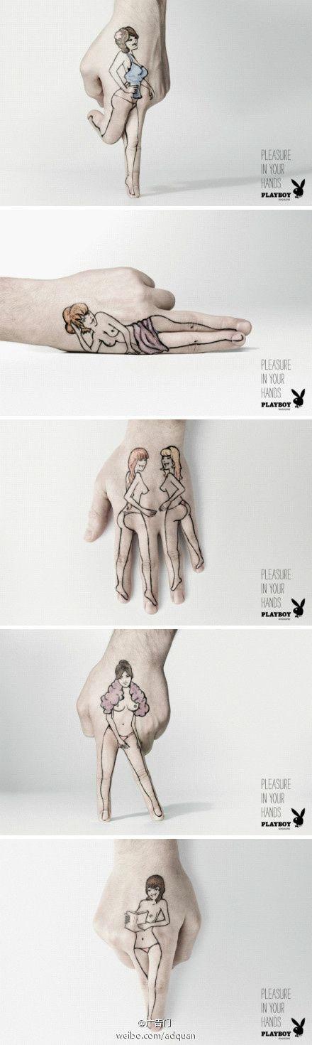 advertising | Playboy | Pleasure in your hands | Neogama BBH