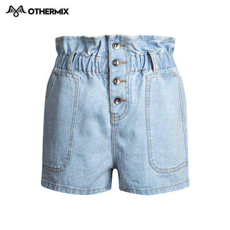 Othermix 2016 лето талии прямой женщин , чтобы сделать старый джинсовые шортыкупить в магазине OTHER MIXнаAliExpress