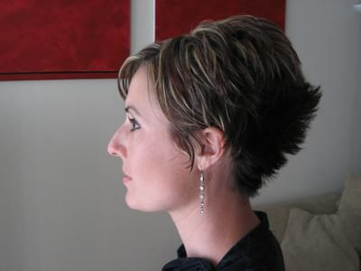 Short Wedge Hairstyles | Wedge Haircut Wedge Haircut Combined With a Variety of Short to Medium ...