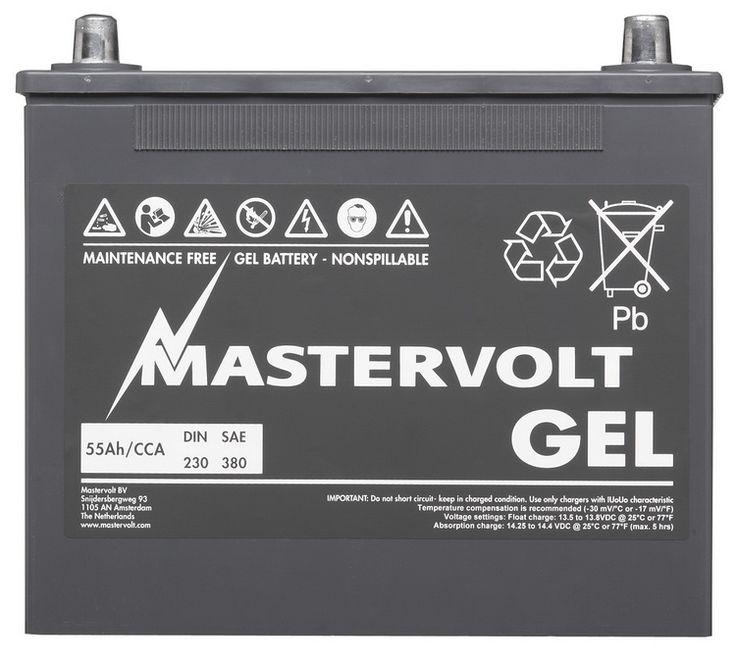 Bateria de GEL 55 Ah