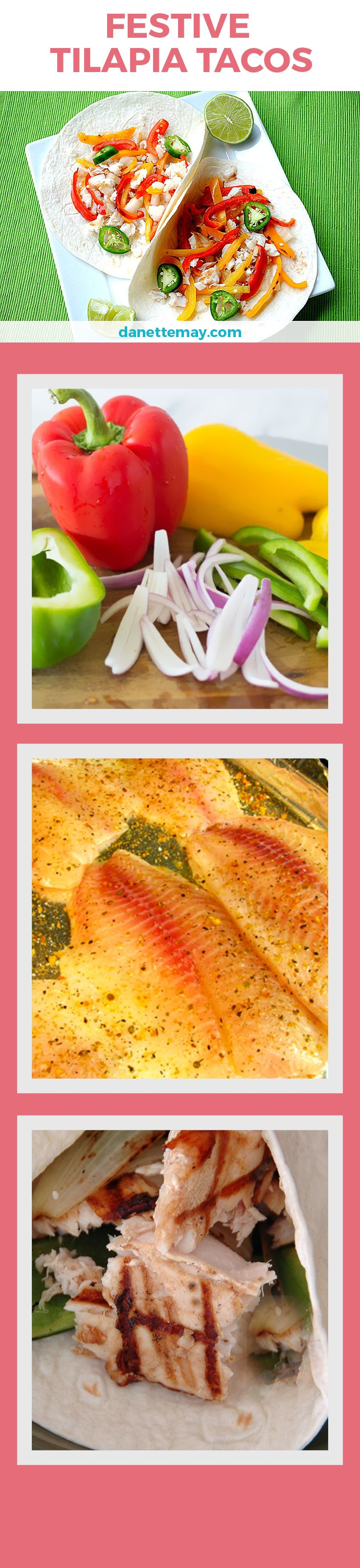 This Tilapia Taco recipe puts a healthy twist on Taco Tuesday!
