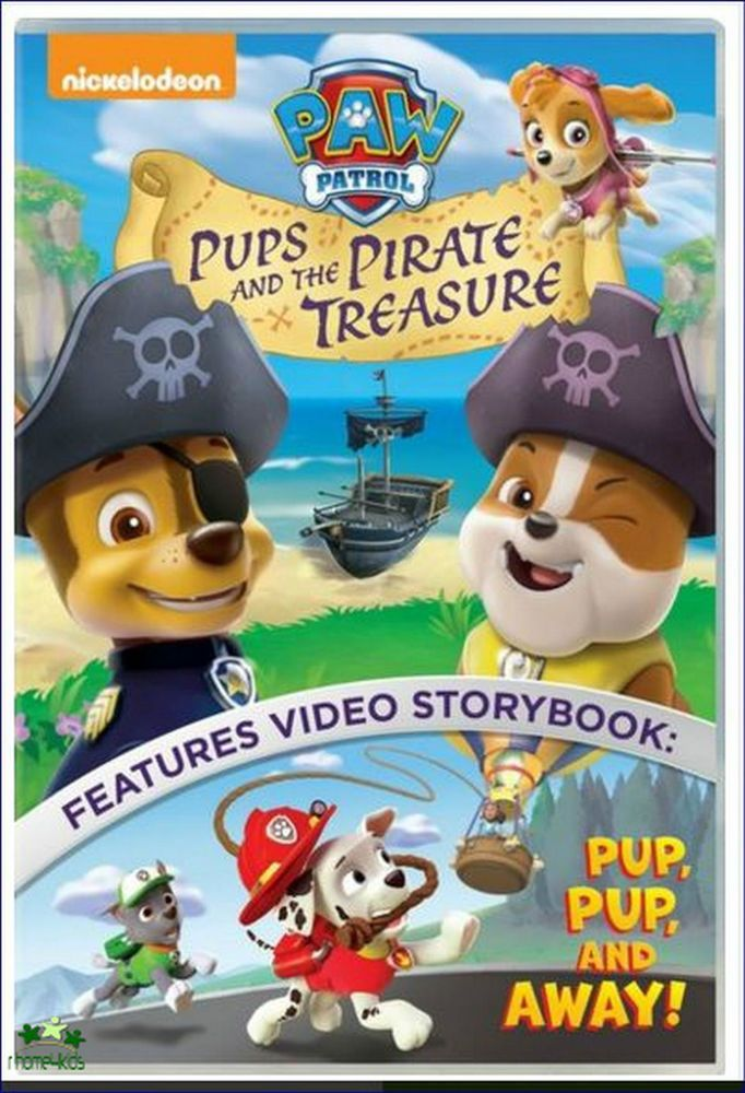 Kids New S Family Movie Paw Patrol Sealed Brave Pups Pirate