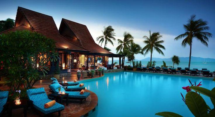nice Лучшие отели на Самуи на пляже: королевский комфорт и уют на острове в Таиланде