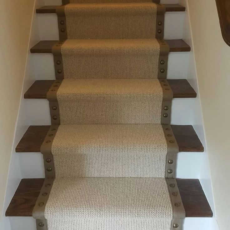stair runner with nailhead trim Google Search (With