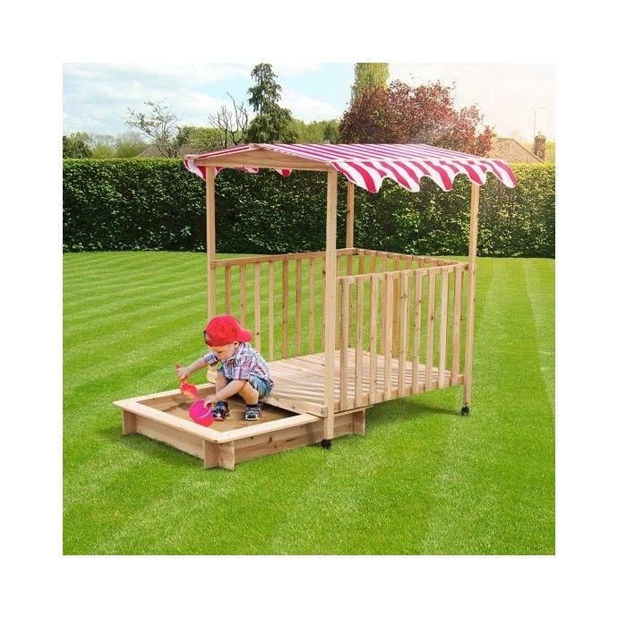 Hiekkalaatikko katoksella, 109,95 €. Hiekkalaatikko on hauska ja turvallinen paikka lapselle leikkiä. Veranta ja hiekkalaatikko tarjoaa ison leikkialueen kuin myös varjon jos sää ei ole ihanteellinen. Hiekkalaatikon verantaa on helppo liikuttaa paikasta toiseen alla olevien renkaiden avulla. Kattoon on kolme värivaihtoehtoa: punainen, vihreä ja sininen. Ilmainen kotiinkuljetus! #hiekkalaatikko #lastenhiekkalaatikko