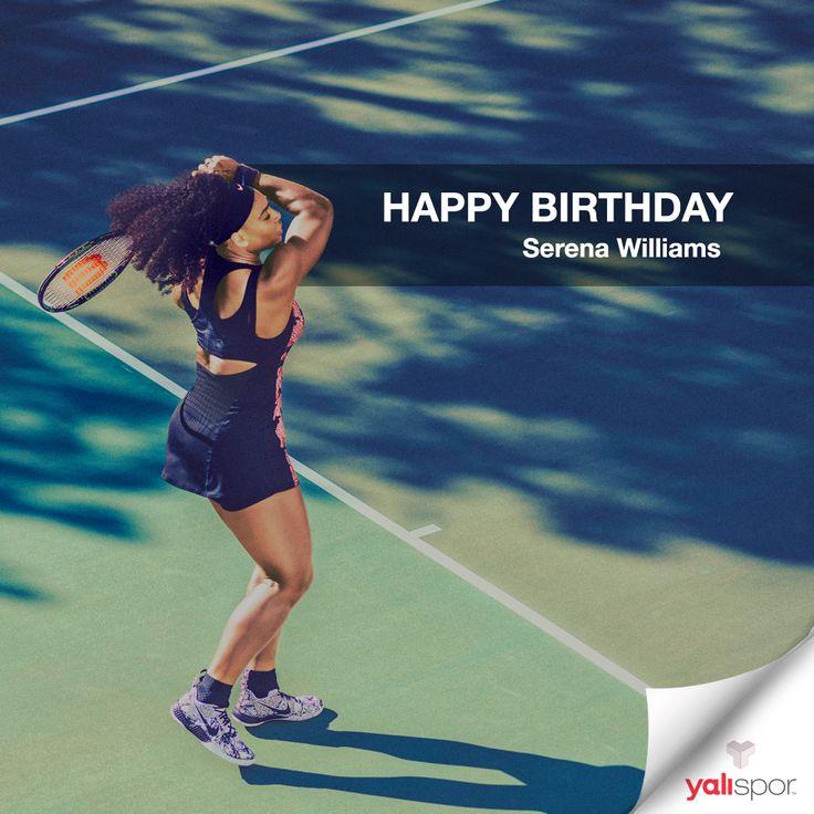 Mutlu Yıllar Serena Williams #HappyBirthday