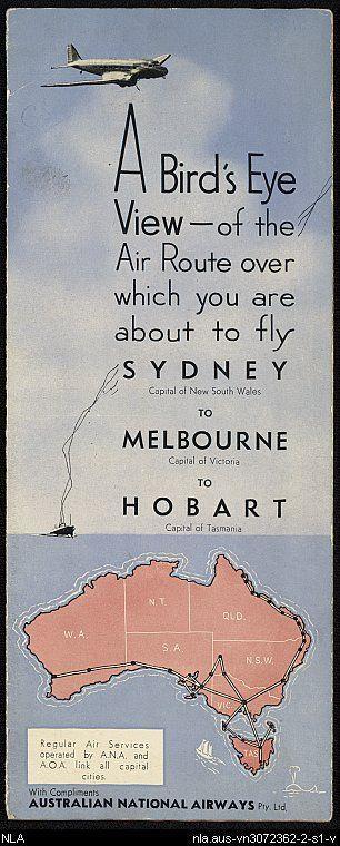 Australian National Airlines.