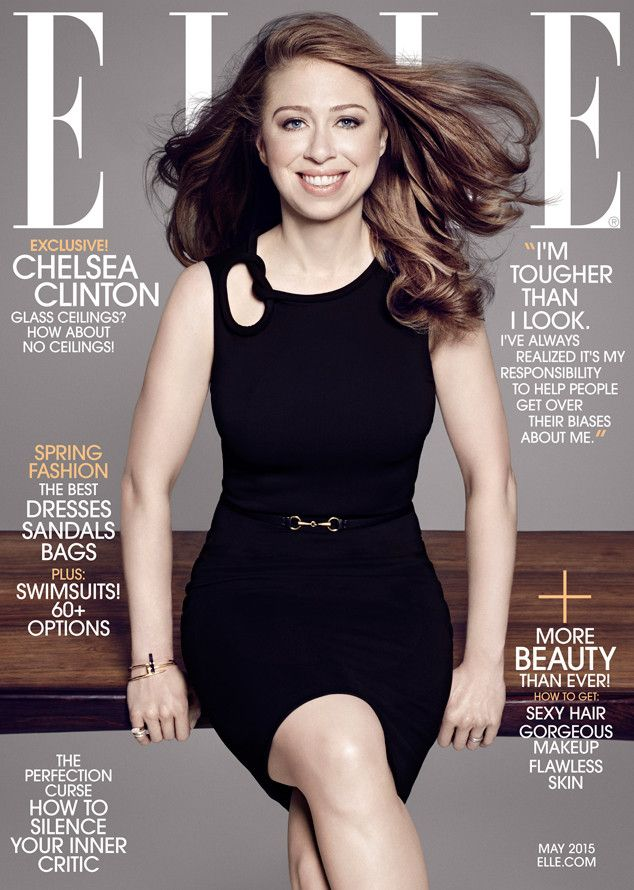 Chelsea Clinton Stuns on Cover of Elle, Talks ''Perfect'' Baby Daughter & (Coincidence!) Importance of Having a Female President  Chelsea Clinton, Elle