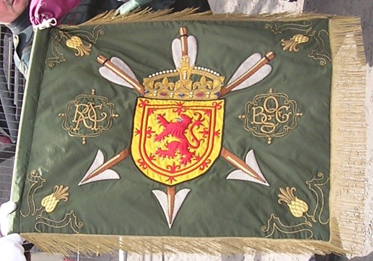 One of the current standards of the Royal Company of Archers
