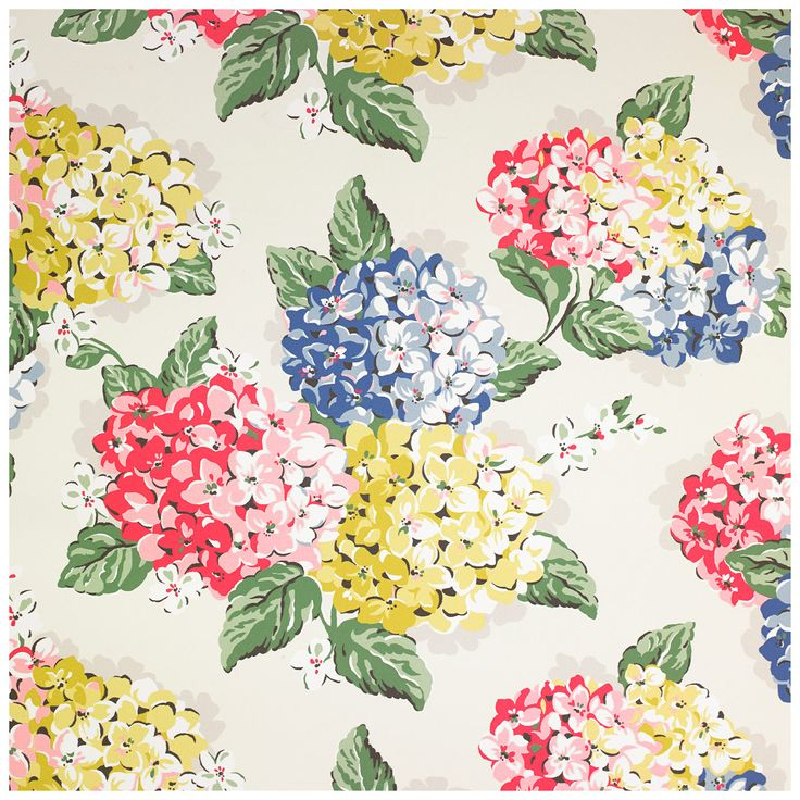 Hydrangea Wallpaper | Hydrangea | CathKidston