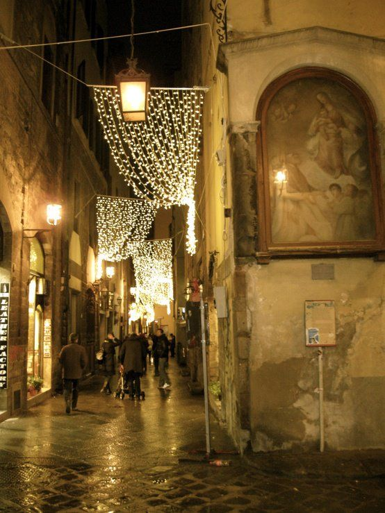 Christmas in Florence,Italy