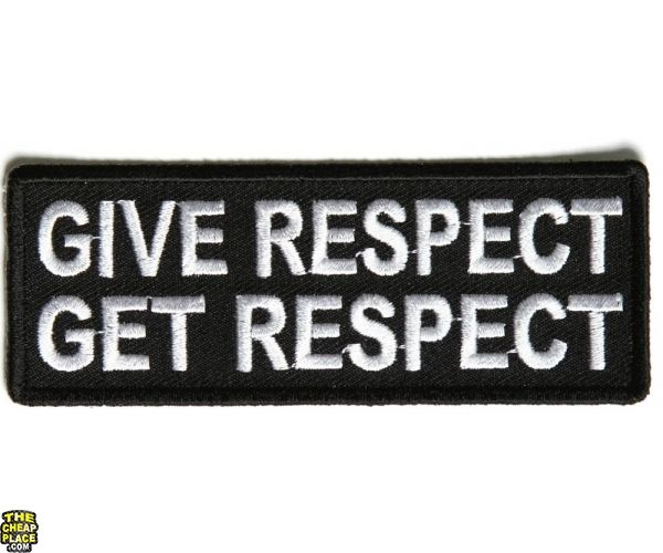 give respect get respect essay Give respect, take respect treating others with respect is a sign that a person is always courteous for every little thing that they are going to apply to ensure that the welfare of other individual is secured.