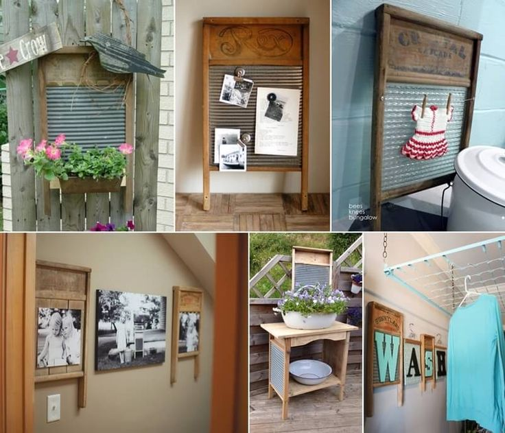 What To Do With Old Washboards?