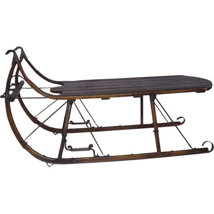 171 best images about ice skates sleds sleighs on pinterest vintage antiques and dutch Antique sleigh coffee table