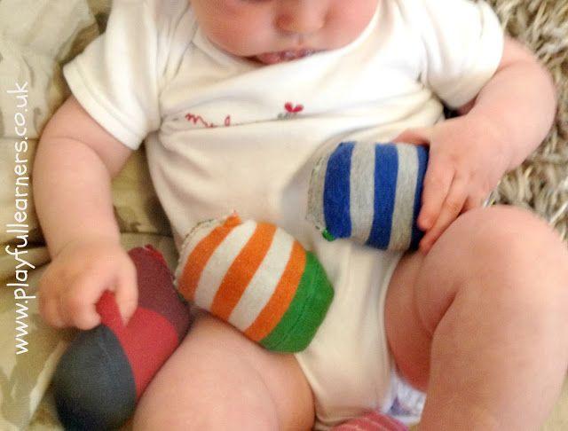 Playful Learners: Baby Play: Sensory Socks