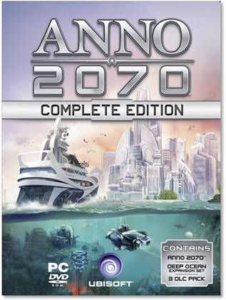 The complete edition of ANNO 2070 has been announced by Ubisoft today. This version of ANNO 2070, the ANNO 2070 Complete Edition, is the most completest edition of the ANNO 2070 game. This is because it comes packaged with a bunch of DLC content and a few bonus extras included.