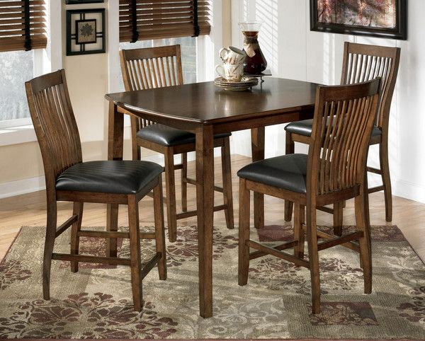Dining Room Decor On A Budget: Stuman Counter Height Dining Set (5 Piece