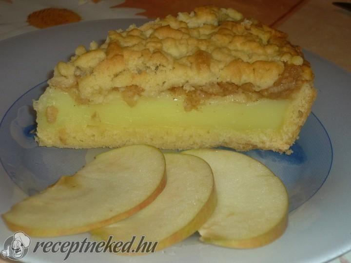Vaníliakrémes almás pite recept | Receptneked.hu (olcso-receptek.hu) - A legjobb képes receptek egyhelyen