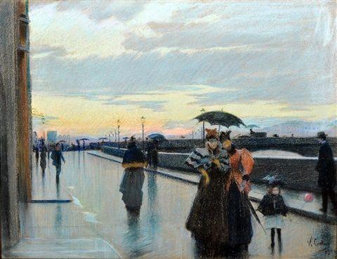 Vittorio Matteo Corcos - Sul ponte