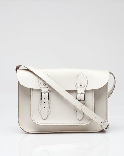 11 inch standard white ++ the leather satchel co.White Bags, Leather Satchel, Standards White, Inch Standards, Women Accessories, Bags Lady, Bags Bags, 11 Inch, Pretty Stuff