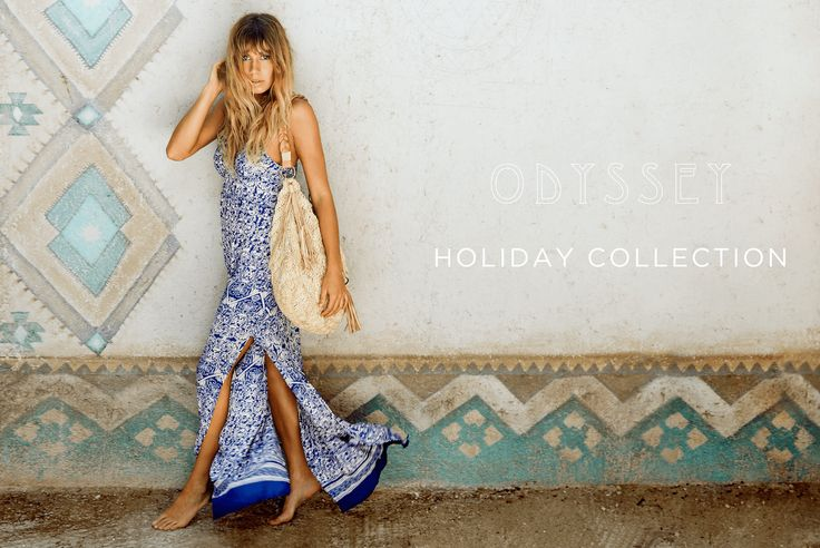 ODYSSEY CAMPAIGN -   Odyssey brings us to the Latino side to celebrate happy moments. It evokes a desire to head for the beach, enjoy in the seaside resort in Tulum for a detox retreat. Odyssey is dedicated to love, hope, beauty and freedom.