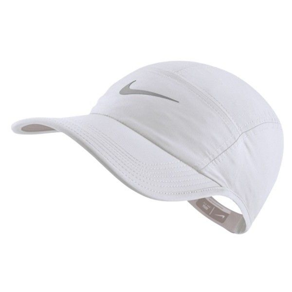 Nike AW84 Hat - White ($30) ❤ liked on Polyvore featuring accessories, hats, nike, panel hats, white hat and nike hats