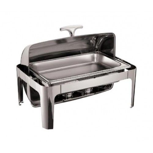 CHAFFING DISH ROLL TOP DOUBLE PAN