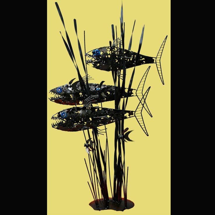 288 best Welded Metal Fish images on Pinterest | Welded art, Welding ...