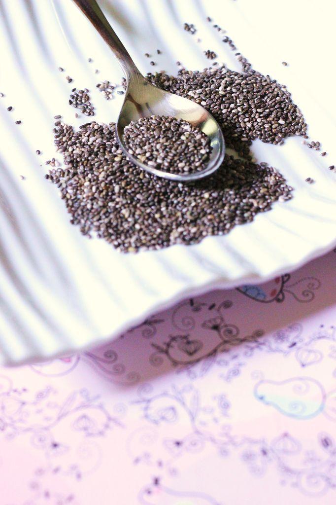 Alimentation vivante - crue : Les graines de Chia