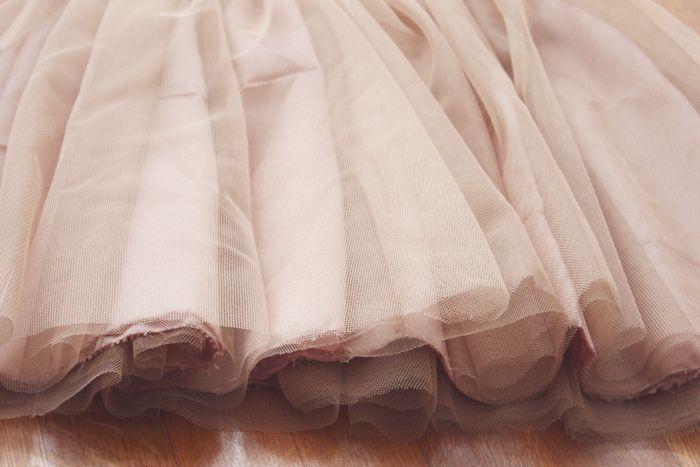 Jupon en tulle : DIY : comment faire une jupe en tulle / jupe tutu
