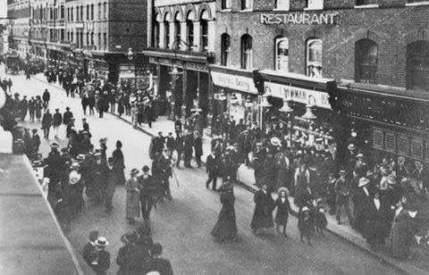 Rye Lane, 1913. Peckham