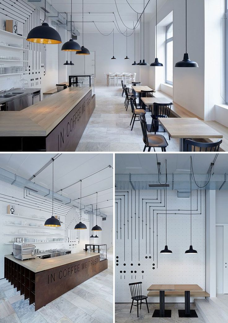 14 creatively designed european cafes that will make you crave coffee - Black Cafe Decor