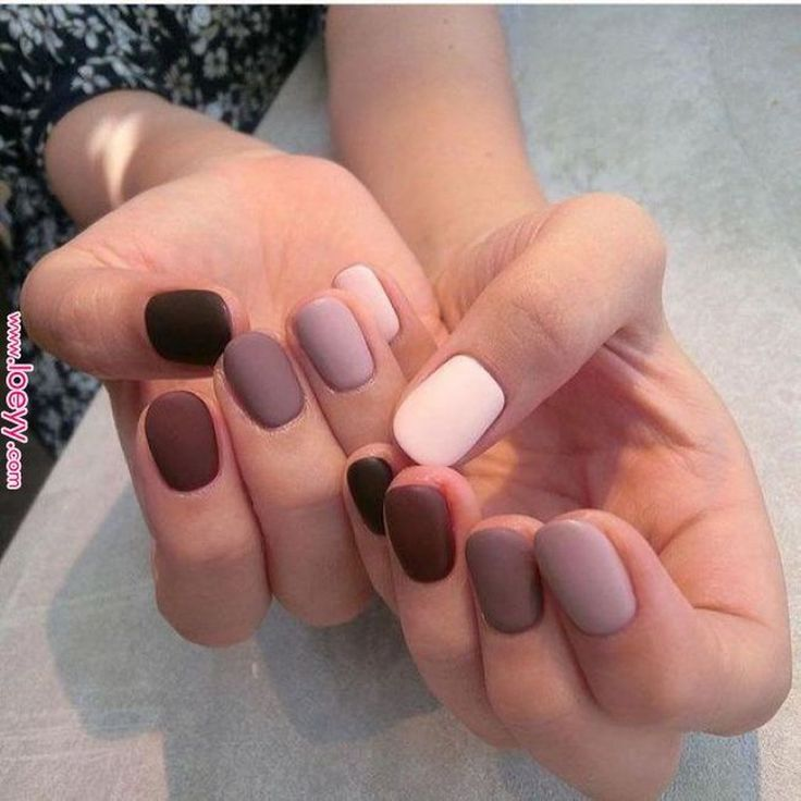 30+ Fancy Matte Nail Art Designs Ideas You Need To Try Right Now – uñas
