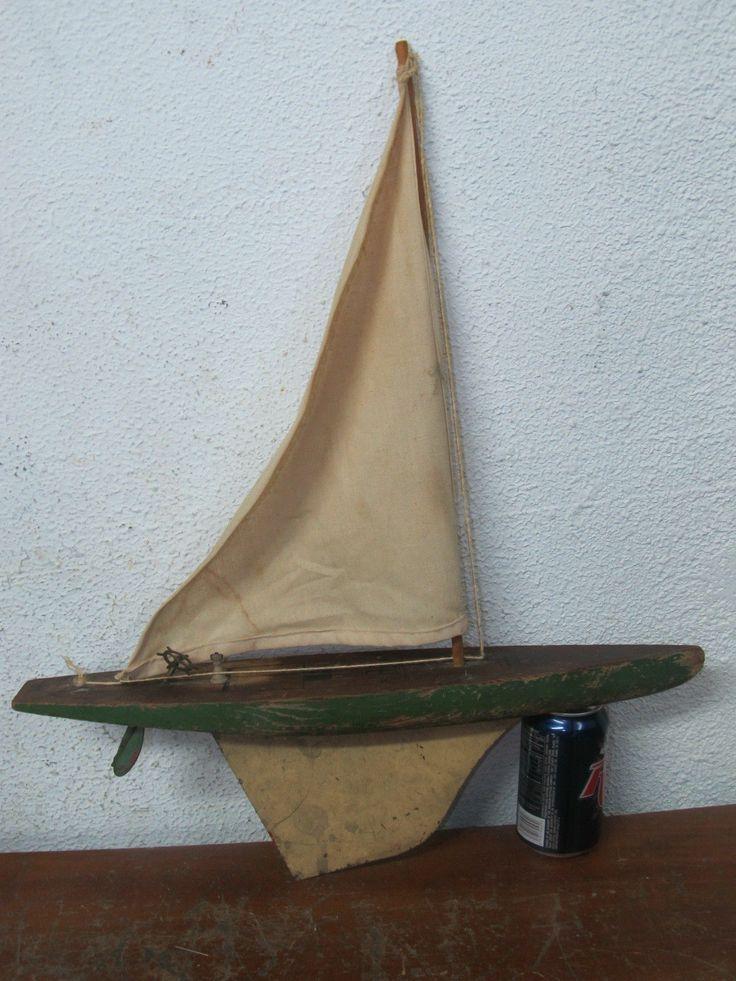vintage model sail boat Additional