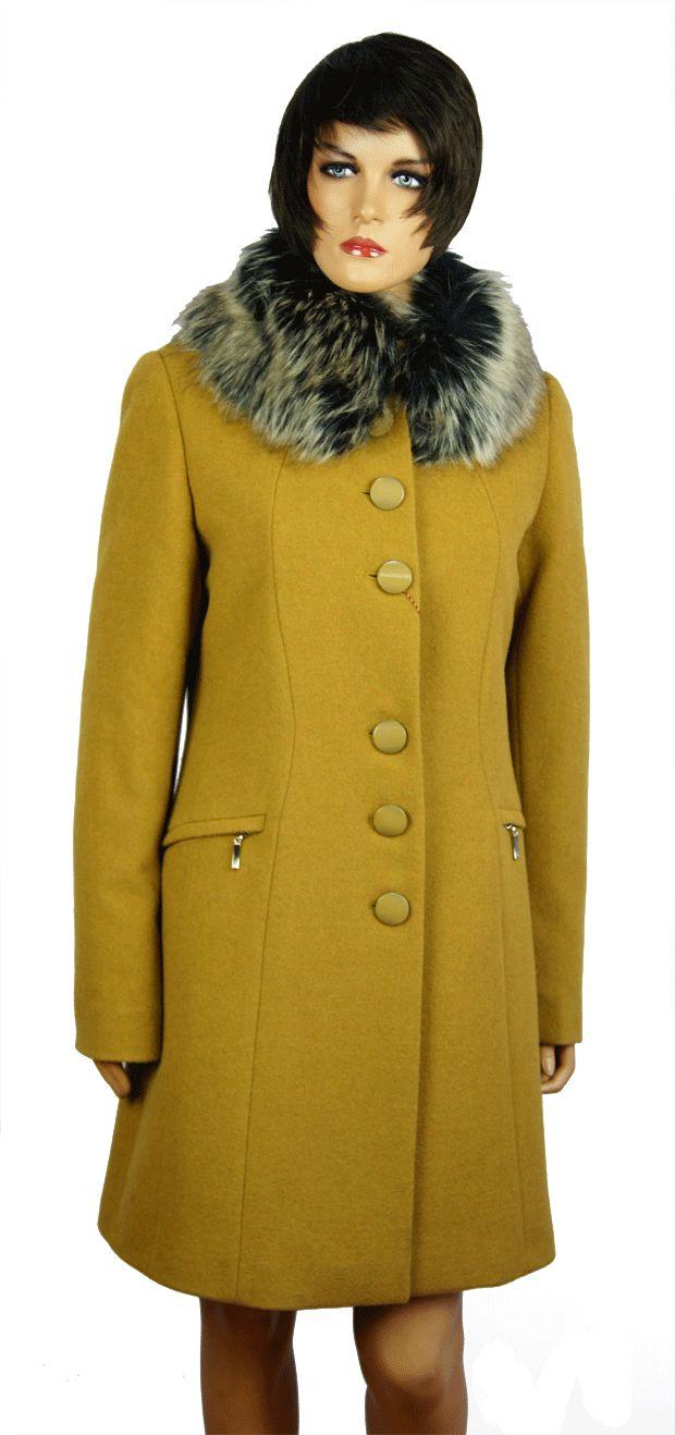 Płaszcz SAS 216 kolor camel