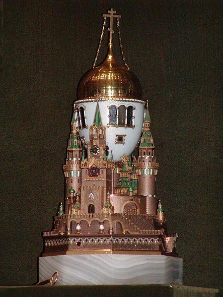 - * Fabergé Egg * - Peter Carl Fabergé - Moscow Kremlin Egg -