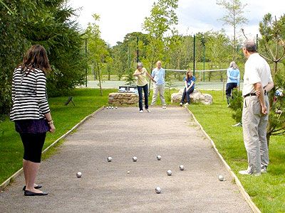 Boules, Cricket, Croquet and Rounders - we're set up for them all