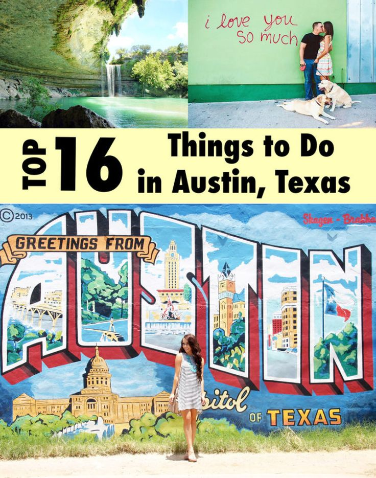 Guide to Austin, TX: 16 Things to See, Eat, and Do!