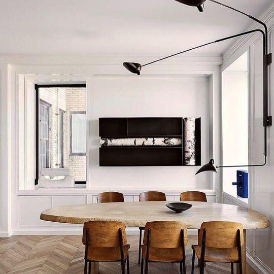 "urbnite: "" Serge Mouille Lighting Collection """