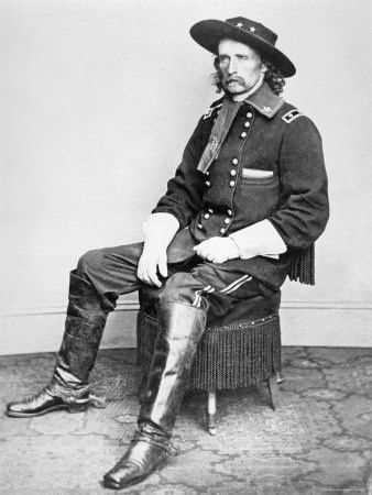 Geo Custer by Matthew Brady