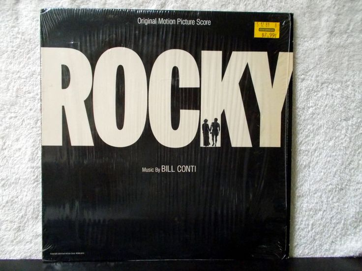 Rocky- Original Motion Picture Score. 1976 vinyl LP 33. Music by Bill Conti. Gonna Fly Now (Theme from Rocky)... by AbqArtistry on Etsy