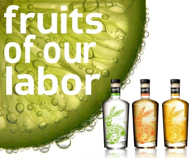 We are enjoying the fruits of our labor this weekend. We hope you are too! #suertetequila #100percenttahona #crushit #mexico #tequila #agave #labordayweekend #summervibes #cocktail #mixology