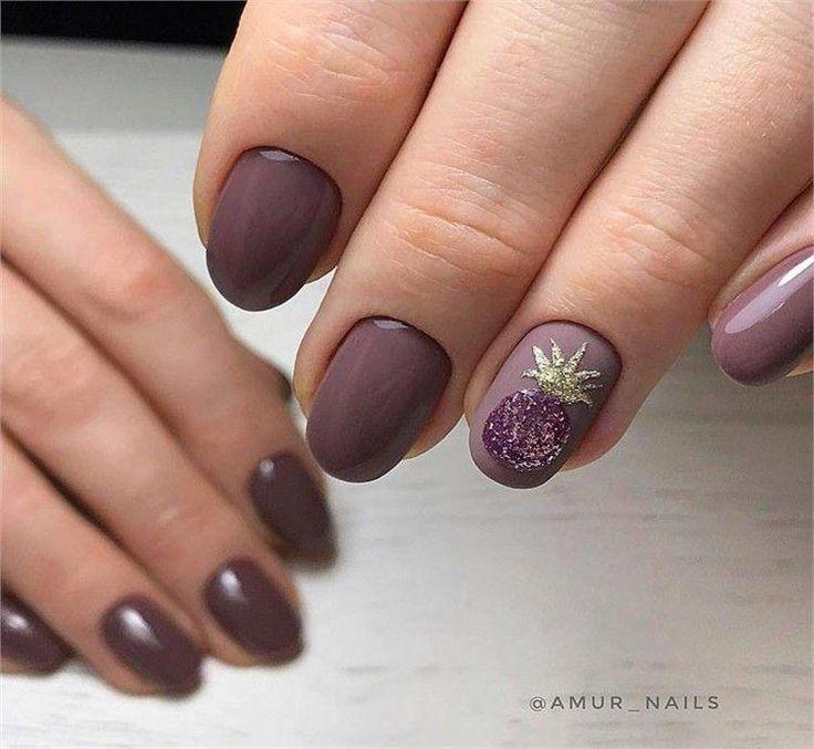 Nail Art Ideen für lila Maniküre #mauve_nail_art #mauvenails – mauve nails