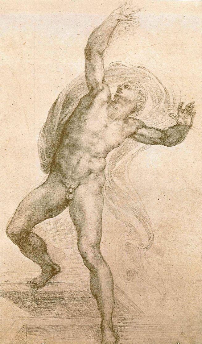 The Fine Art Nude, Michelangelo Buonarroti, The Risen Christ, ca....