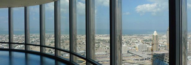 Burj Khalifa - view from the top | Facts & Figures